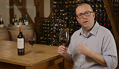 Andrew Riding presents the Waitrose Reserve Shiraz St Hallett, from Barossa Valley, Australia