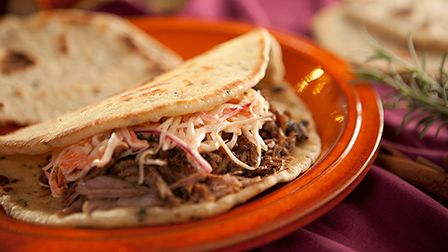 Get Baking with Paul Hollywood - Flatbreads with spiced lamb