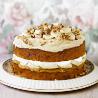 Banoffee Cake Recipe Waitrose