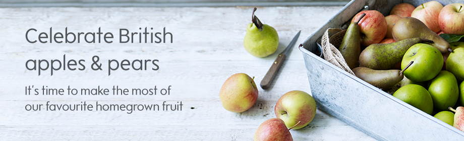 Celebrate British apples & pears