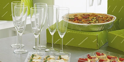 Party planning countdown entertaining for Waitrose canape selection