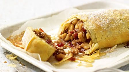 Apple & pear strudel