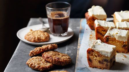 Ginger, date & orange cookies