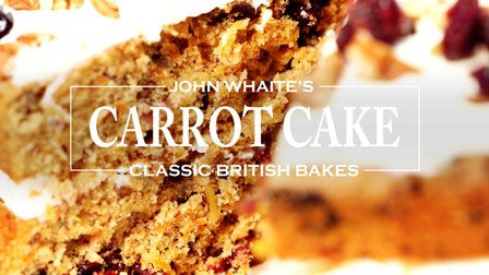 John Whaite's carrot cake with cranberry and lime