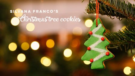 Love to Bake: Silvana Franco's Christmas tree cookies