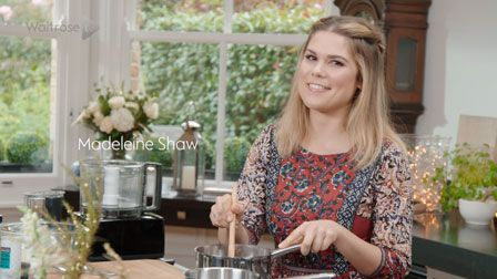 Madeleine Shaw's Gluten-free sticky toffee puddings with vanilla custard