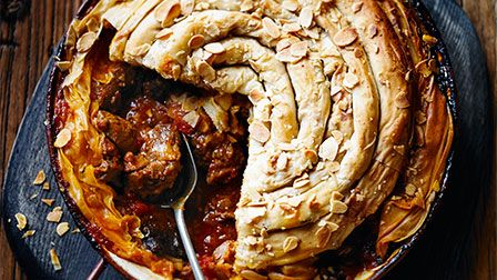 Martha Collison's Lamb tagine pie