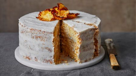 Coconut and pineapple cake