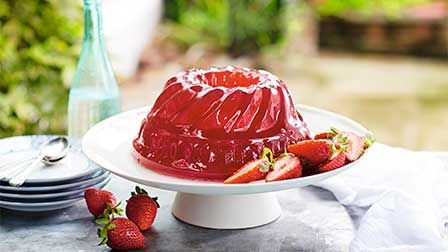 Strawberry rose jelly
